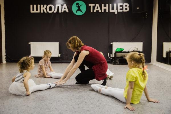 Детские занятия танцами в Танцевальной студии